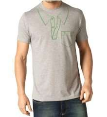 Original Penguin Mens Earl Sport T Shirt Polo Grey - SAVE 92% - WAS £29.99 - NOW ONLY £2.50 DELIVERED!! @THEFASHIONHUT