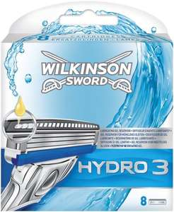 Wilkinson Sword Hydro 3 Razor Blades - Pack of 8 - £7.32 - Amazon