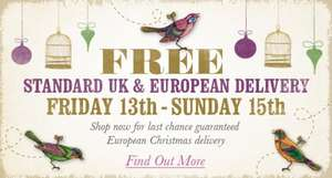 Free UK & European Standard Delivery on all orders at Penhaligon's