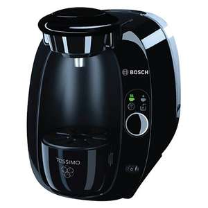 Bosch TAS2002GB Tassimo Coffee Machine, Black @ John Lewis £39.00 £59.00 on Amazon