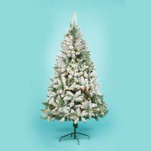 Half Price Christmas Trees @ ASDA inc. 6ft LED Pre-Lit Snow Effect Tree now £25 (down from £50)