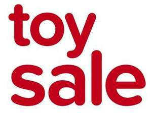 Half Price end of season Toy Sale just launched Online @ Kiddicare