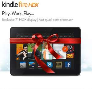 "Amazon Kindle Fire HDX 7"" Tablet - 16GB Wifi model £169.00 until 2nd January @ Amazon"