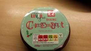 Camembert 250g with dish just £2 at Co-op!