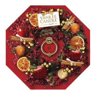 YankeeCandle Advent calender £10.50 del with codes