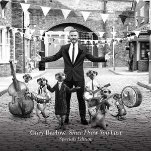 Free Special Edition of Gary Barlow Album - Since I Saw You Last