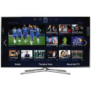 "50"" LED TV £850- Samsung UE50F6500 - Full HD, Freeview&Freesat HD, USB-recording & Smart TV - John Lewis (5yr warranty inc!) £849 @ John Lewis"