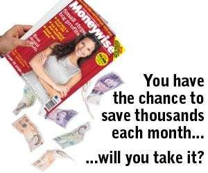 Get a free copy of Moneywise magazine (worth £3.95, offered in association with Yahoo)
