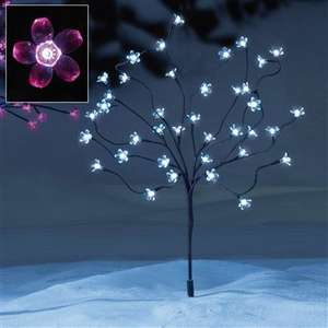 1.5m Solar Powered Pink LED Blossom Tree - £7.99 (down from £49.99) - Studio + £4.99 Delivery