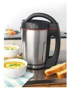 Giles & Posner Electric Soup Maker Robert Dyas £36.99 FREE DELIVERY