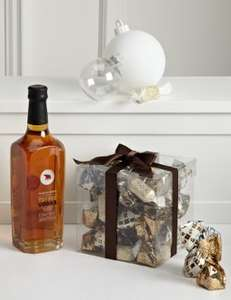 Grand Finalé Gift  (Toffee Vodka & Italian Chocolates) reduced to £15 at Marks and Spencer online