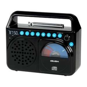 Bush Wave Boombox with CD player - 4 colours - 25% off at Argos, now 29.99