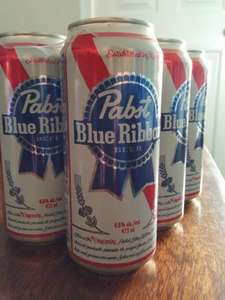 Pabst Blue Ribbon American beer. 6x473ml £5.49 at  B&M