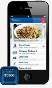 TESCO CLUBCARD APP ON SMART PHONES