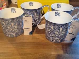V&A Victoria & Albert Fine Bone China Mugs 99p at 99p stores