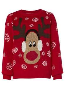 girls xmas jumpers @ internacionale from £10.49 30% 0ff & free delivery on entire site