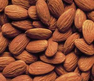 Loose Roasted Salted Almonds £0.90 per 100gms at Lidl
