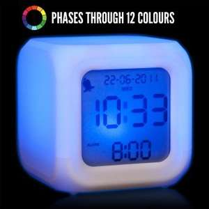 Aurora Colour Changing Alarm £10.75 @ GENIE GADGETS