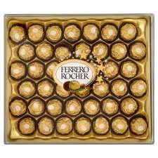 42 Ferrero Rocher 525g @ Tesco, now - £9