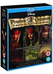 Pirates Of The Caribbean Trilogy (Blu-Ray Boxset) £6.99 delivered @ Base