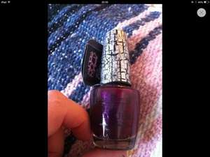 OPI Crackle Nailpolish only £1 in poundworld! RRP 12