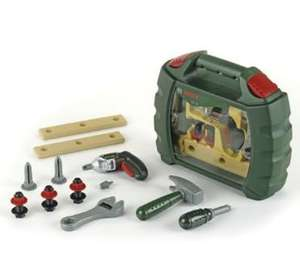 TOY bosch work case inc working drill.RRP £20 Now £8 with 20% off this weekend at ELC!