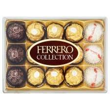 Ferrero Rocher collection 15 pieces £3.00 @ Tesco