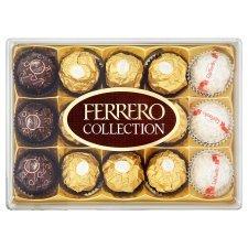 Ferrero Rocher collection 15 pieces £3.00 @ Tesco