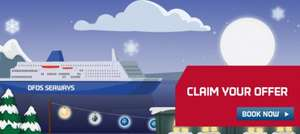 DFDS - Various Discounts - Most 10%