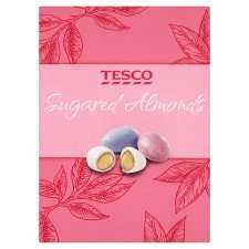 Tesco Sugared Almonds 140G was £3.00 now £1.00