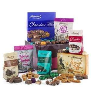 Thorntons 2 Hampers for £30 enter code TCHN + £3.95 delivery
