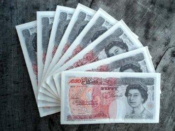 Novelty £50 note Napkins X16 for 59p @homebargains