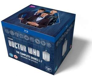 Doctor Who: The Complete Series 1-7 Blu-Ray Box Set - £111.99 Using Code @ BBC Shop