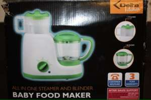 All in one Baby Food Maker £19.99 @ Aldi