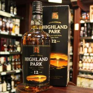 Highland Park 12 year old malt whisky £26.00 @  Sainsburys