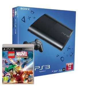 PS3 Super Slim 12gb and Lego marvel superheroes only £135@ Amazon