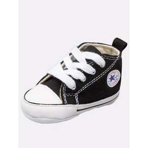 Converse First Star Crib Shoes Black @ £9.99 Bargain Crazy