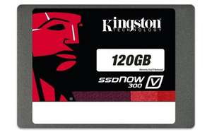 Kingston 120GB SSD Drive 2.5-inch V300 SATA 3 with Adapter for £55.88 + FREE DELIVERY @ Sold by ValueNTrust and Fulfilled by Amazon