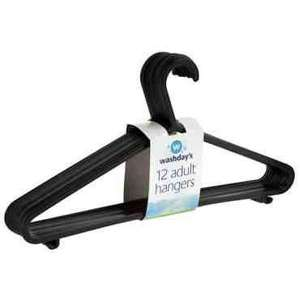 12 pack hangers for 99p @ 99p stores