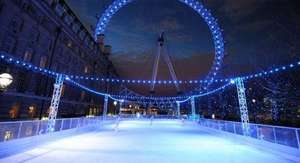 Free Ice Skating @ London Eye EyeSkate on Monday's 11am for Mastercard card holders