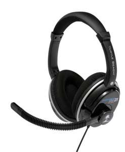 Turtle Beach - Ear Force PX21 Headset Works On PS3 PS4 XBOX 360  PC MAC £29 @ ASDA Direct