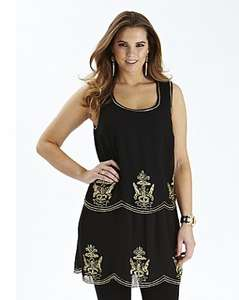 Baroque Flapper Dress HALF PRICE - Simply Be