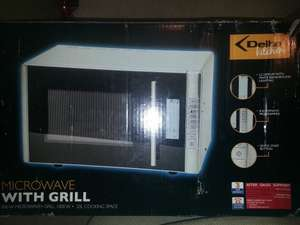 Microwave with grill 1/2 price at Aldi £24.99