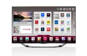 "LG 47LA690V 47"" 400Hz Full HD LED 3D Smart TV with Built-In Wi-Fi & Freeview HD £719.99 (+cashback) @ HughesDIrect"
