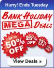 Bank Holiday Mega Deals @ Dixons - Up to 50% Off !