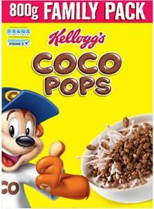 Coco Pops 800g Family Pack £2.50 @ Super Valu Instore