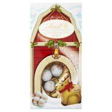 Lindt Gold Reindeer Barn Gift Pack 110g REDUCED 99p @ B&M