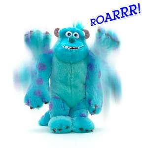 Monsters University Sulley scare me toy - moves & speaks 17 phrases £11.25 @ Disney store