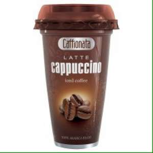 Caffionata Iced Coffee Cappuccino 250ml now 50p on BOGOF offer of £1.00 @ Tesco