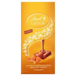 Lindt Lindor Caramel Chocolate bar 100g £1.00 @ Shell garages